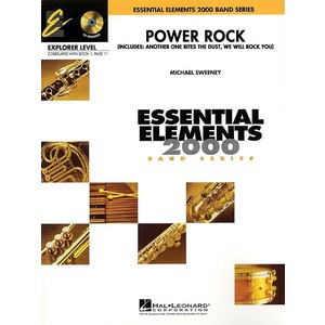 Score Power Rock(We Will Rock You/Another One) (CB Gr.1) - Hal Leonard - 00860504