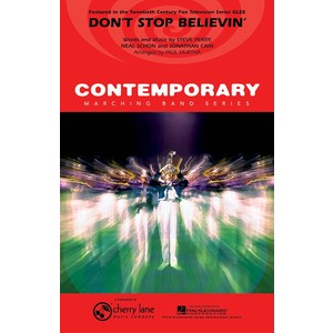 Score Dont Stop Believin (from Glee) - arr Murtha (MB) - Hal Leonard - 02501435