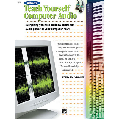 Music Teach Yourself Computer Audio (KD) - Alfred Music - 00-21910