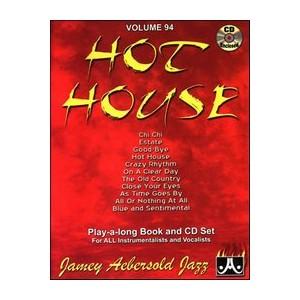 Music Aebersold Vol.94 Hot House wCD - Aebersold - OV94DS