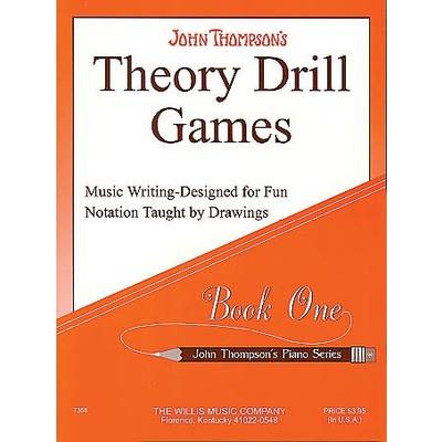 Music Thompson Theory Drill Games 1 (PA) - Hal Leonard - 00414132
