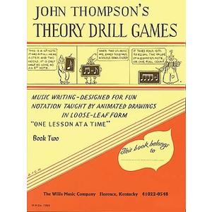 Music Thompson Theory Drill Games 2 (PA) - Hal Leonard - 00414163