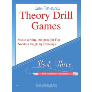 Music Thompson Theory Drill Games 3 (PA) - Hal Leonard - 00414164