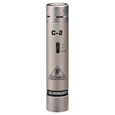 Behringer 2 Matched Studio Condenser Microphones - Behringer - C-2