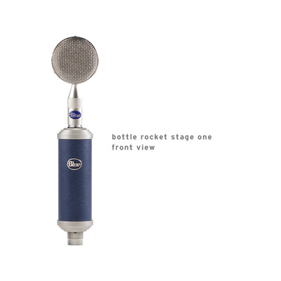 Blue Microphones Bottle Rocket Stage One Microphone - Blue Microphones - BOTTLE RKT ST 1
