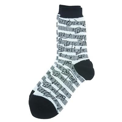 Socks Aim Socks Sh Music Blk/White - Aim - 10004