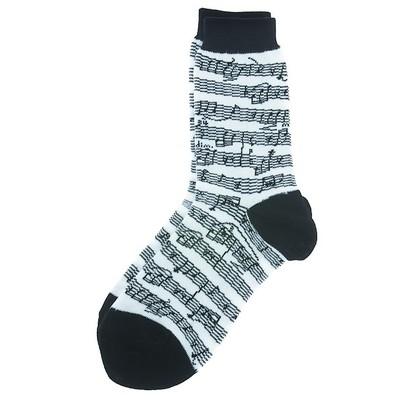 Socks Aim Socks Sh Mus B/W Kids - Aim - 10004K