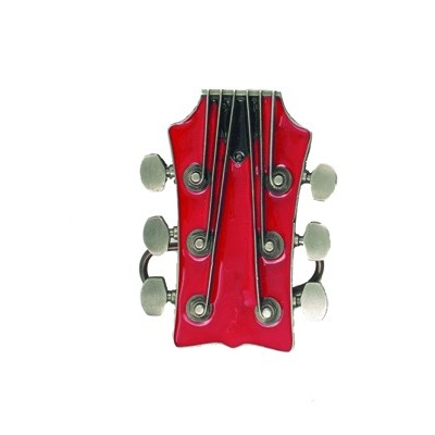 Guitar Head Belt Buckle - Aim - 13207