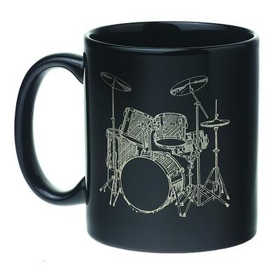 Mug Set - 5 Piece, Black/White - Aim - 1811