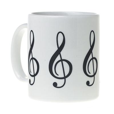 G-Clef Mug - White - Aim - 1916