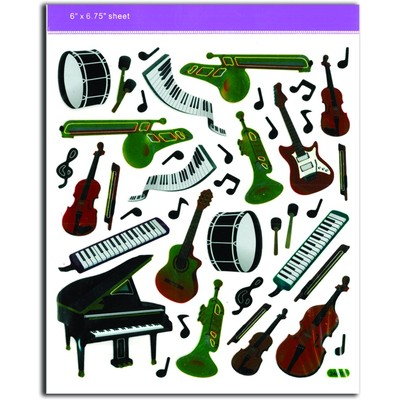 Stickers Aim Musical Instruments - Aim - 29548
