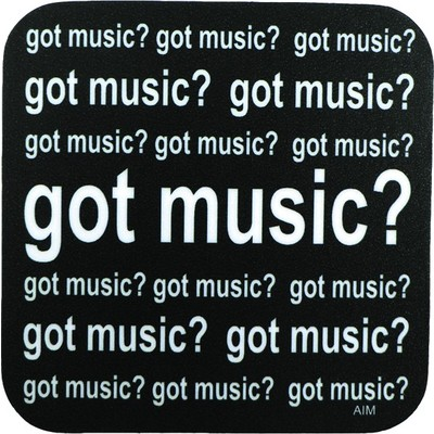 Coaster Aim Vinyl Got Music Square - Aim - 29843