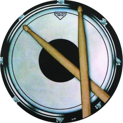 Coaster Aim Vinyl Drum Practice Pad Round - Aim - 29845