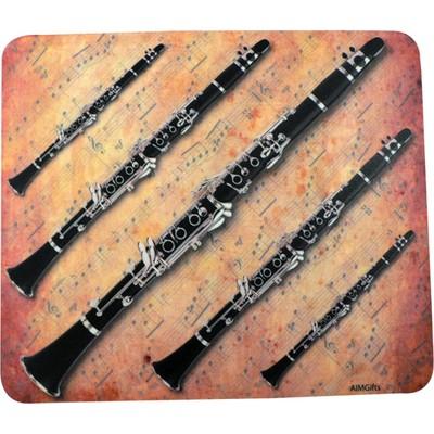 Mouse Pad Aim Sheet Music Clarinet - Aim - 40033