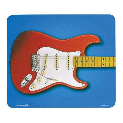 Mouse Pad Aim Red Electric Guitar - Aim - 40425
