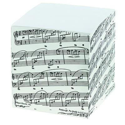 Memo Pad Aim Sq Sheetmusic - Aim - 4720