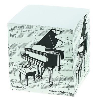 Memo Pad Aim Sq Gr Piano - Aim - 4721