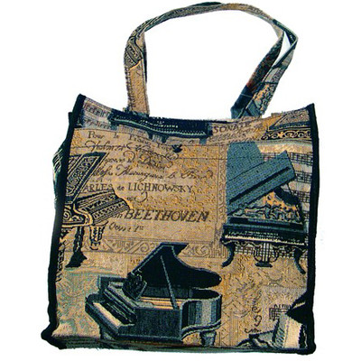 """Piano Tapestry 12"""" Tote - Aim - 49555"""