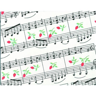 Note Card Aim Music And Rosebuds 8/Pk - Aim - 51812