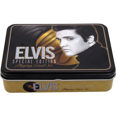 Playing Cards Aim Elvis Special Edition w/Tin - Aim - 7697