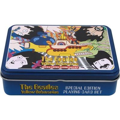 Playing Cards Aim Beatles Yellow Submarine w/Tin - Aim - 7698
