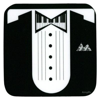 Coaster Aim Vinyl Keyboard Tux - Aim - 82435