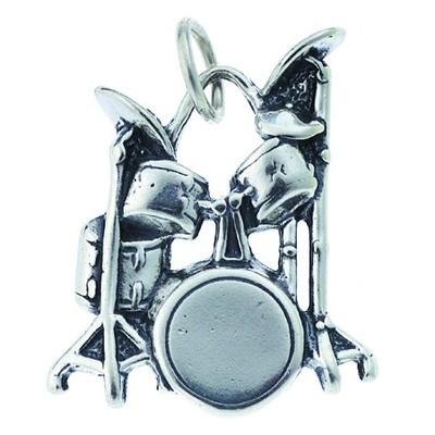 Charm Aim Silver Drum - Aim - CH5