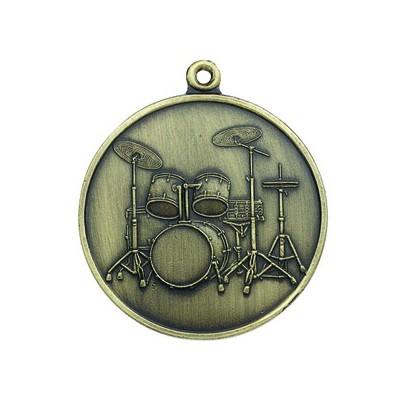 Keychain Aim 5Pc Drum Antiq Brass - Aim - K52C