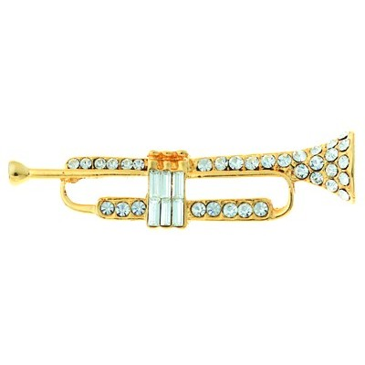 Brooch Aim Rhinestone Large Trumpet - Aim - RB53