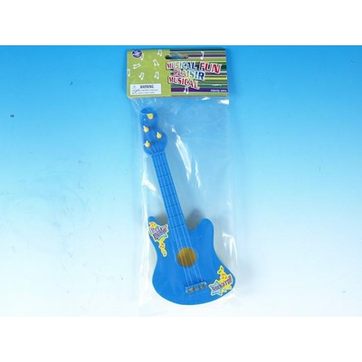 Guitar Toy Galaxy Children's Plastic Asst Colours - Toy Galaxy - 34114