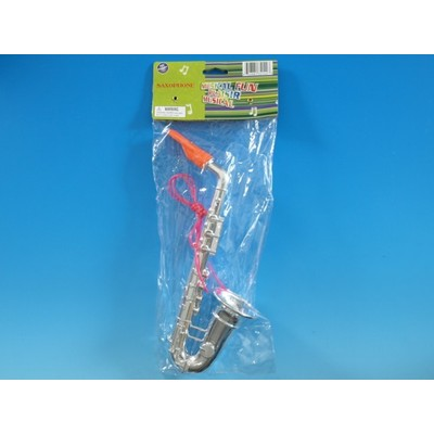 Saxophone Toy Galaxy Children's Plastic Asst Colours - Toy Galaxy - 34142