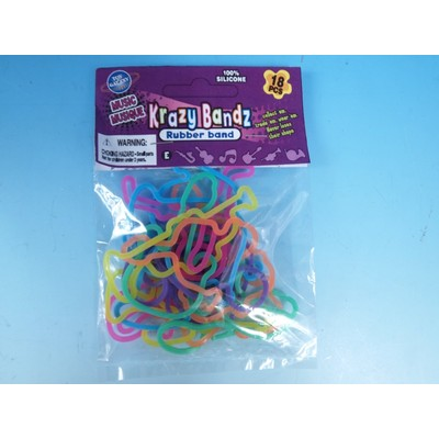 Krazy Bandz Toy Galaxy 18 Pc Musical Instruments - Toy Galaxy - 39273