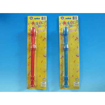 Recorder Toy Galaxy Children's Translucent Asst Colours - Toy Galaxy - 63002