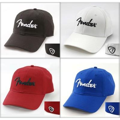 Fender Logo Stretch Cap - Black, S/M - Fender - 910-6000-306