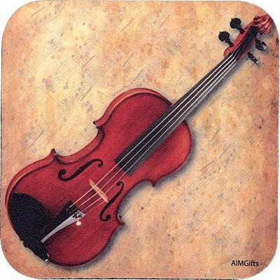 Coaster Aim Vinyl Violin Sheet Music - Aim - 29891