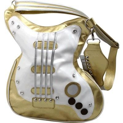 Guitar Handbag - Metal Gold - Aim - 78105