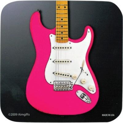 Coaster Aim Vinyl Pink Electric Guitar - Aim - 82806