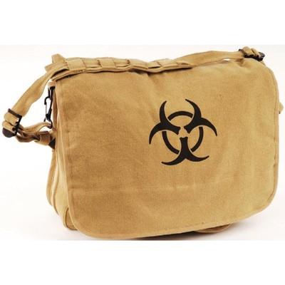 Washed Logo Bag Biohazard Tan