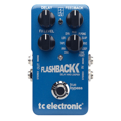 TC Electronic Flashback Delay and Looper Effect Pedal - TC Electronic - 960670001