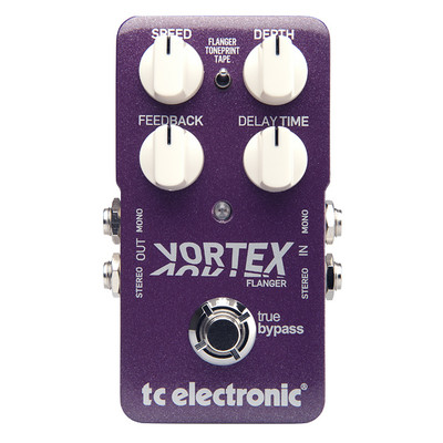 TC Electronic Vortex Flanger Effect Pedal - TC Electronic - 960680001