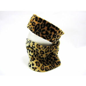 Earband/Neckwarmer Set - Leopard