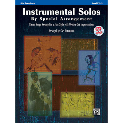 Music Instrumental Solos by Special Arrangement - Alto Sax