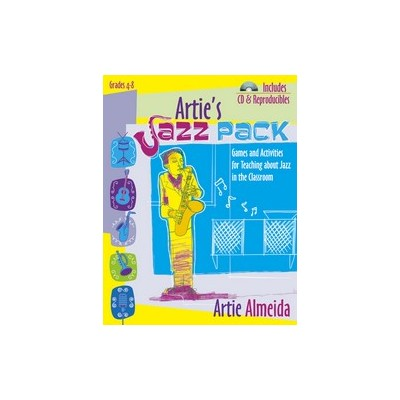 Music Arties Jazz Pack (Book/Games/CD Pack)