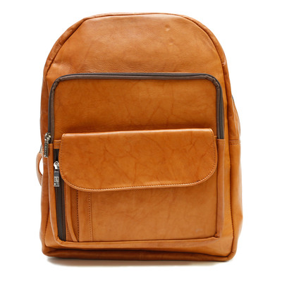 Traveler's Backpack with Zippered Compartments