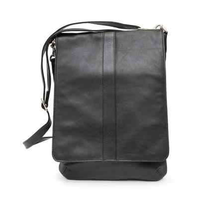 Unisex Messenger Bag with Media Device Holder
