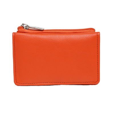 Bi-fold Mini-Wallet with Change Purse and ID Slot