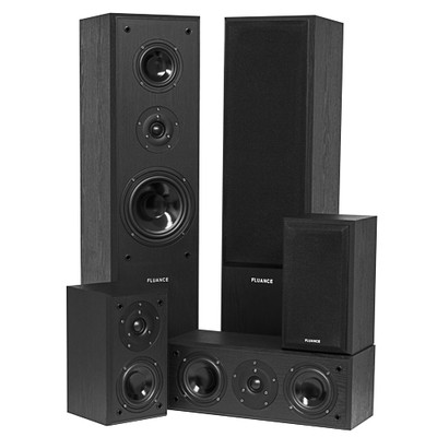 Fluance AVHTB 5 Speaker Surround Sound Home Theater System