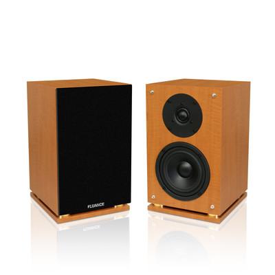 Fluance SX6 High Definition Two-way Bookshelf Loudspeakers Wood (871363003829)