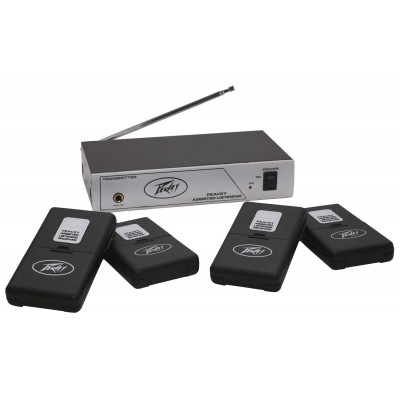 Peavey Assisted Listening System - 75.9 MHz - Peavey - 03010650 (0014367602845)