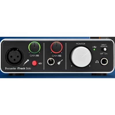 iTrack Solo Interface - Focusrite - ITRACK-SOLO-LIGHTNING
